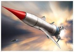 Thunderbird 1: In Action Art Print - 1