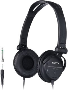 Sony MDRV150 Black Headphones - 1