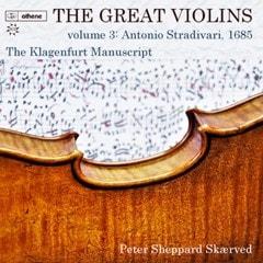The Great Violins: Antonio Stradivari, 1685 - Volume 3 - 1