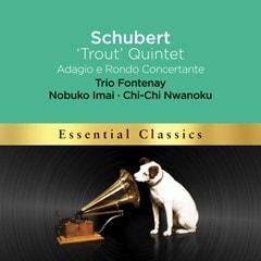 Schubert: 'Trout' Quintet/Adagio E Rondo Concertante - 1