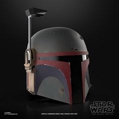 Boba Fett (Re-Armored) Premium Electronic Helmet: Star Wars Black Series - 3