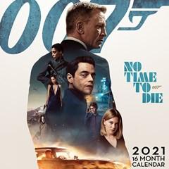 James Bond: No Time To Die Square 2021 Calendar - 1