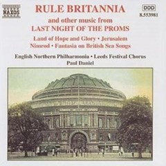 Rule Britannia and other music from Last Night Of The Proms - 1