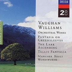 Vaughan Williams: Greensleeves, Etc. (Marriner/ Wordsworth/ Boult - 1