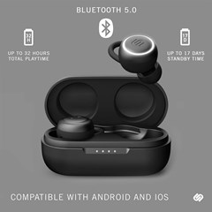 Urbanista Athens Midnight Black True Wireless Bluetooth Earphones - 3