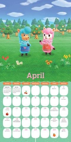 Animal Crossing: New Horizons Square 2022 Calendar - 2