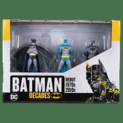 Batman Decades: 3 Figurine Set: Hero Collector - 3
