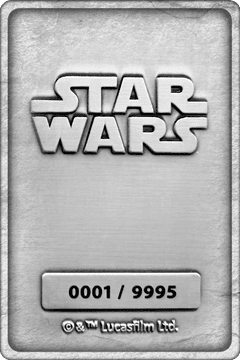 Mandalorian And Baby Yoda: Star Wars Ingot Collectible - 3