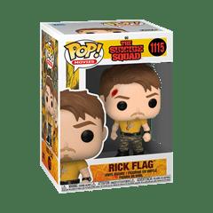 Rick Flag (1115): Suicide Squad 2021 Pop Vinyl - 2