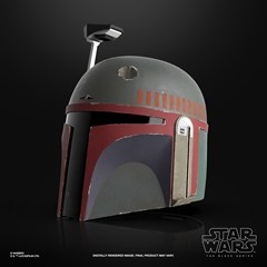 Boba Fett (Re-Armored) Premium Electronic Helmet: Star Wars Black Series - 2