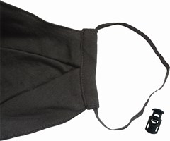 Zipped Mouth Cotton Face Covering - 4