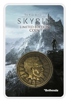 Elder Scrolls: Skyrim Limited Edition Coin - 1