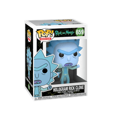 Hologram Rick Clone (659) Rick & Morty Pop Vinyl - 2