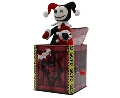 Harley Quinn: Jack-In-The-Box Collectible - 3