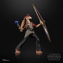 Jar Jar Binks: Deluxe: The Black Series: Star Wars Action Figure - 1