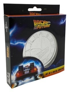 Back To The Future: Metal Embossed Coaster Set - 2