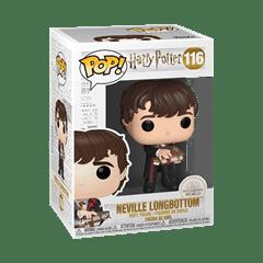 Neville Longbottom with Monster Book (116) Harry Potter Pop Vinyl - 2
