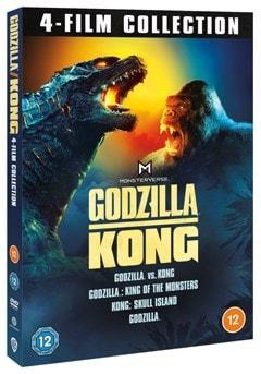 Godzilla and Kong: 4-film Collection - 2