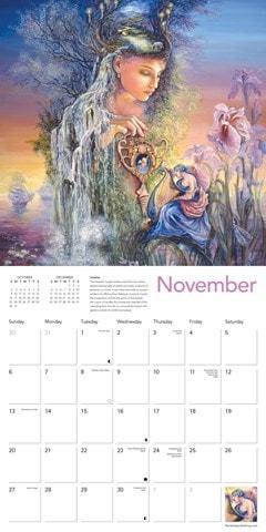 Celestial Journeys: Josephine Wall Square 2022 Calendar - 2