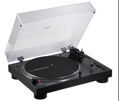 Audio Technica AT-LP120XBT Black Bluetooth Turntable - 1