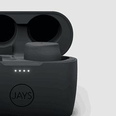 Jays M-Five Grey True Wireless Bluetooth Earphones - 3