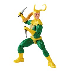 Loki: Retro Hasbro Marvel Legends Series Action Figure - 8