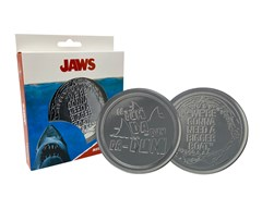 Jaws: Metal Embossed Coaster Set - 3