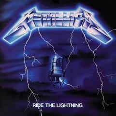 Metallica: Ride The Lightning Canvas Print - 1