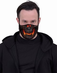 Skull Lava Face Covering - 2