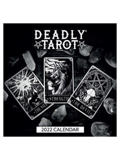 Deadly Tarot: Square 2022 Calendar - 1