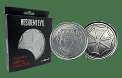 Resident Evil: Metal Embossed Coaster Set - 3