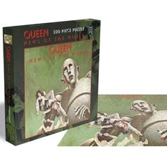 Queen - News Of The World: 500 Piece Jigsaw Puzzle - 1