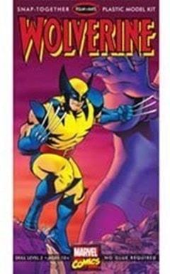 Wolverine Model Kit: Marvel Snap Together - 3