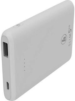 Hama Slim White 5HD 5000mAh Power Bank - 1