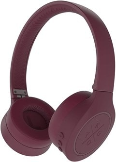 Kygo A4/300 Burgundy Bluetooth Headphones - 1