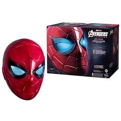 Iron Spider: Spider-Man Hasbro Marvel Legends Series Electronic Helmet - 9