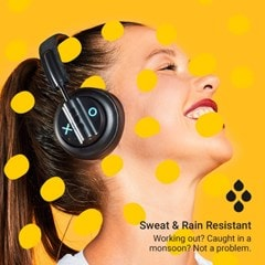Jam Out There Black Active Noise Cancelling Bluetooth Headphones - 6