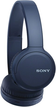 Sony WHCH510 Blue Bluetooth Headphones - 2