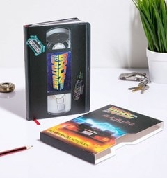 Back To The Future (Great Scott) VHS Premium A5 Notebook - 1