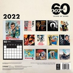 James Bond: 60 Years of Bond Square 2022 Calendar - 3