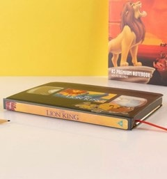 The Lion King (Circle Of Life) VHS Premium A5 Notebook - 3