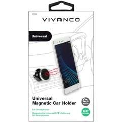 Vivanco Magnetic Silver Car Phone Mount - 2