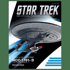 Star Trek: U.S.S. Enterprise NCC-1701-D Dreadnought Ship XL Hero Collector - 3