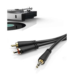 Hama RCA To Aux 1.5m Cable - 2