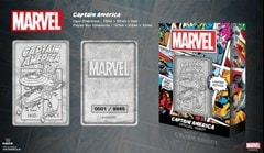 Captain America: Marvel Limited Edition Ingot Collectible - 5