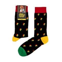 Bob Marley: Dreads In Concert Socks - 1