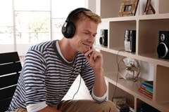 Philips SHP6000 Black Headphones - 3