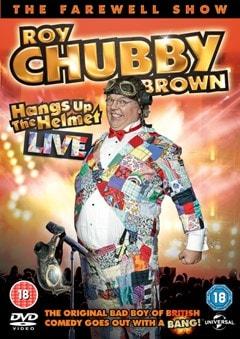 Roy Chubby Brown Hangs Up His Helmet - 1