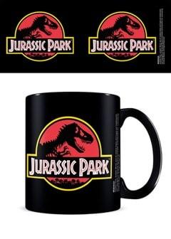 Jurassic Park: Classic Logo Black Mug - 1