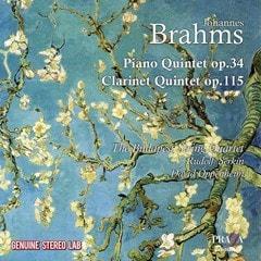 Johannes Brahms: Piano Quintet, Op. 34/Clarinet Quintet, Op. 115 - 1